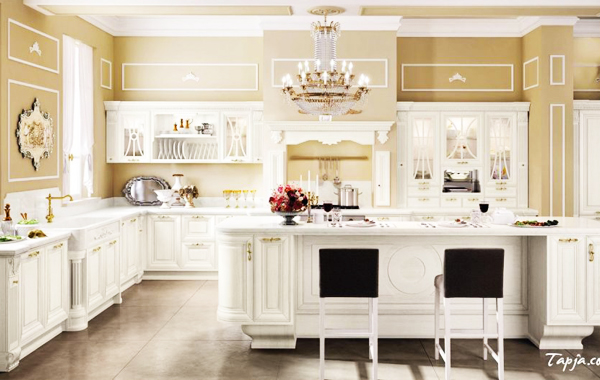 Home Decorating-Vintage Kitchen Decorating Ideas