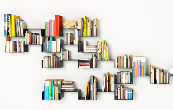 Store Your Books and Add Style To Your Home Decorating